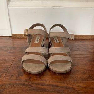 Steve Madden block heeled sandals